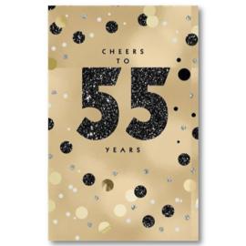 Hallmark Wenskaart Collectie All that Age 55 (55 Jaar)