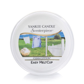 Yankee Candle Scenterpiece Easy MeltCup Clean Cotton