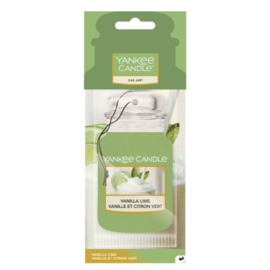 Yankee Candle Car Jar Vanilla Lime
