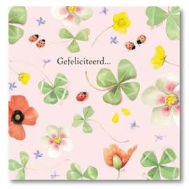 Hallmark Wenskaart Collectie Marjolein Bastin 26 (Felicitatie)