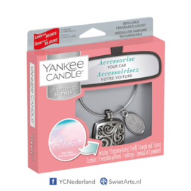 Yankee Candle Pink Sands Square Refillable Locket Charming Scents Starter Kit
