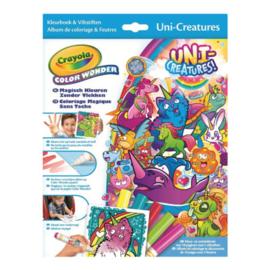 Crayola Color Wonder - Box Eenhoorns Kleurboek inclusief 5 Stiften