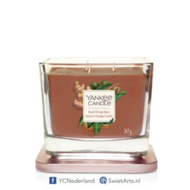 Yankee Candle Sweet Orange Spice Medium 3-Wick Square Candle