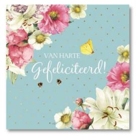Hallmark Wenskaart Collectie Marjolein Bastin 25 (Felicitatie)