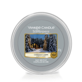 Yankee Candle Scenterpiece Easy MeltCup Candlelit Cabin