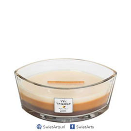 WoodWick Ellipse Candle Cafe Sweets Trilogy