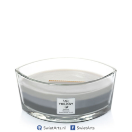 WoodWick Ellipse Candle Warm Woods Trilogy