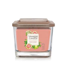 Yankee Candle Elevation Medium Jar Jasmine & Pomelo