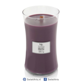 WoodWick Large Candle Dark Poppy
