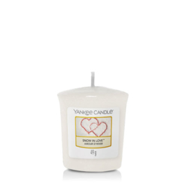 Yankee Candle Votive Snow In Love