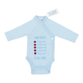 VIB Rompertje Blauw (Baby Rules)