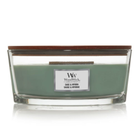 WoodWick Ellipse Candle Sage & Myrrh