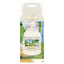 Yankee Candle Car Jar Clean Cotton