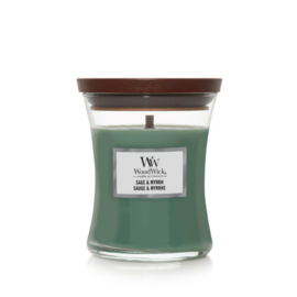 WoodWick Medium Candle Sage & Myrrh