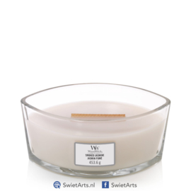 WoodWick Smoked Jasmine Ellipse Candle
