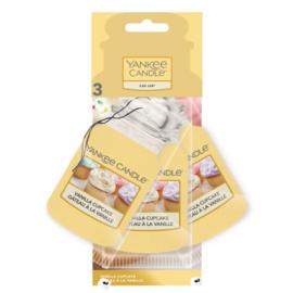 Yankee Candle Car Jar Vanilla Cupcake 3 Pack