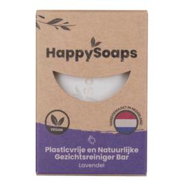 HappySoaps Gezichtsreiniger Bar Lavendel 70g