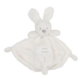 VIB Knuffeldoekje met Konijnenhoofd (Wit)