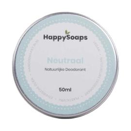 HappySoaps Natuurlijke Deodorant Neutraal 50ml