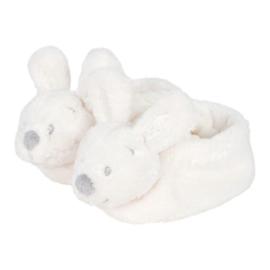 VIB Pluche Babyslofjes Konijn (Wit)