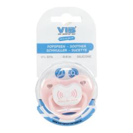 VIB Baby Fopspeen Roze (PULL for alarm)