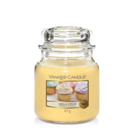 Yankee Candle Medium Jar Vanilla Cupcake