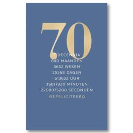 Hallmark Wenskaart Collectie All that Age 64 (70 Jaar)