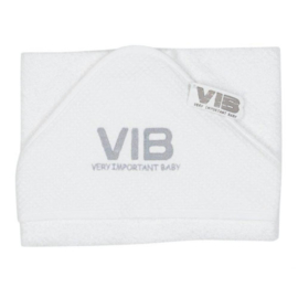 VIB Badcape Wit (VIB Very Important Baby)