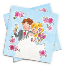 Blond-Amsterdam Servetten Huwelijk