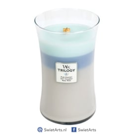 WoodWick Large Candle Woven Comforts Trilogy