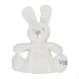VIB Pluche Konijn Zittend 24cm (Wit)