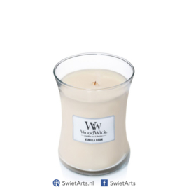WoodWick Medium Candle Vanilla Bean
