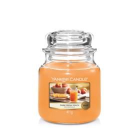 Yankee Candle Medium Jar Farm Fresh Peach