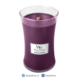 WoodWick Large Candle Spiced Blackberry