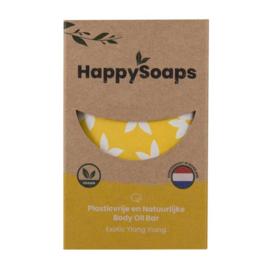 HappySoaps Body Oil Bar Exotic Ylang Ylang 70g