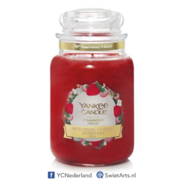 Yankee Candle Strawberry Large Jar