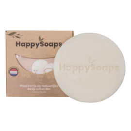 HappySoaps Body Lotion Bar Coco Nuts 65g
