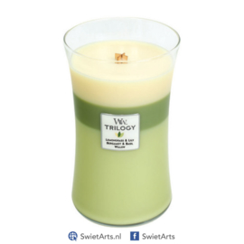 WoodWick Large Candle Garden Oasis Trilogy