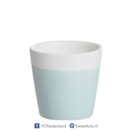 Yankee Candle Votive Holder Bucket Pastel Hue Blue