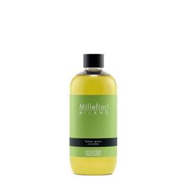 Millefiori Milano Geurstokjes Navulling 500ml Lemon Grass