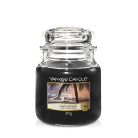 Yankee Candle Medium Jar Black Coconut