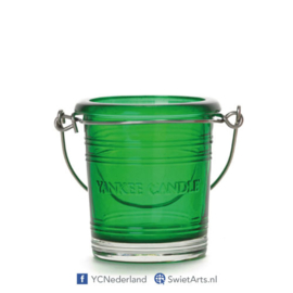 Yankee Candle Votive Holder Bucket Emerald
