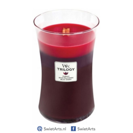 WoodWick Large Candle Sun-Ripened Trilogy