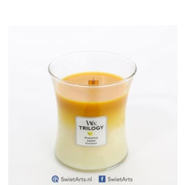 WoodWick Trilogy Fruits of Summer Medium Candle
