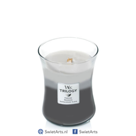 WoodWick Medium Candle Warm Woods Trilogy