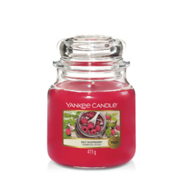 Yankee Candle Medium Jar Red Raspberry