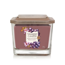 Yankee Candle Elevation Medium Jar Grapevine & Saffron