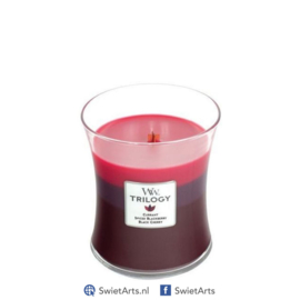 WoodWick Medium Candle Sun Ripened Berries Trilogy