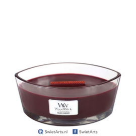 WoodWick Ellipse Candle Black Cherry