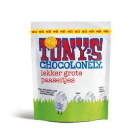 Tony's Chocolonely 180 Gram Paaseitjes Wit (Zak)